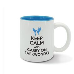 KEEP CALM and carry on TAEKWONDO  Korean Martial by davesdisco
