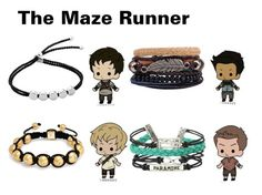 """""""The Maze Runner Pictures Preferences Bracelet He Makes You"""" by arrowette-854 ❤ liked on Polyvore featuring Monica Vinader, Bling Jewelry and Hot Topic"""