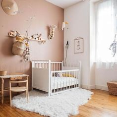 Do It Yourself nursery and baby room decorating! Ideas for you to create a litt. - Do It Yourself nursery and baby room decorating! Ideas for you to create a little heaven on earth - Baby Bedroom, Baby Room Decor, Nursery Room, Girls Bedroom, Nursery Decor, Project Nursery, Girl Nursery, Kid Decor, Bedroom Decor
