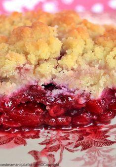 crumble aux fruits rouges recette (2)