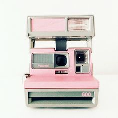 Pink polaroid. #camera #photo #instant