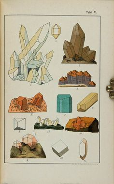 How to draw rocks and crystals