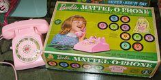 1968 Barbie Doll Mattel-O-Phone with Box