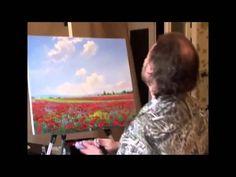 Igor Sajarov. Clase magistral pintura de la amapola de campo