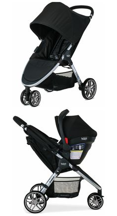 Our Top 10 Standard Strollers include the Britax 2016 B-Agile 3. Why We Love It: The Britax 2016 B-Agile 3 is a best-seller. It features a lightweight aluminum frame with quick one hand fold design allowing you to close the stroller in just seconds. The 3-wheel configuration with swivel front wheels provides an ultra-small...Continue Reading