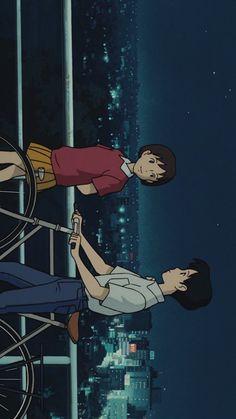 If you listen, Wallpaper Whisper of the Heart-INSIDE Korea JoongAng Daily-귀를 기울이면 배경화면 6 ; Whisper of The Heart : 네이버 블로그 If you listen, Wallpaper Whisper of the Heart-INSIDE Korea JoongAng Daily - Studio Ghibli Art, Studio Ghibli Movies, Animes Wallpapers, Cute Wallpapers, Old Anime, Anime Art, Film Animation Japonais, Studio Ghibli Background, Chihiro Y Haku