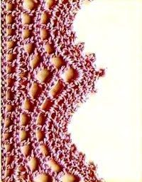 Crochetpedia: Border Patterns. This and many others on this site. *  ༺✿ƬⱤღ  http://www.pinterest.com/teretegui/✿༻