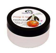 Orange and Spice Deodorant Creme