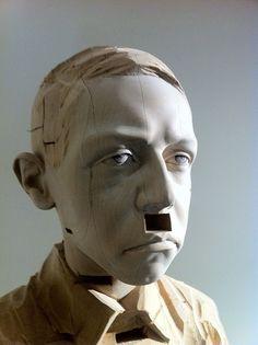 Gehard Demetz - Hitler (detail) by |maup|, via Flickr