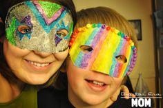 DIY Halloween Costume : DIY Brazilian Carnival Masks for Kids  DIY Halloween