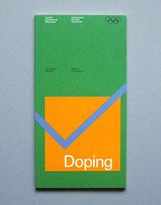 Flyer Goodness: 1972 Munich Olympics Brochures & Leaflets Designed by Otl Aicher