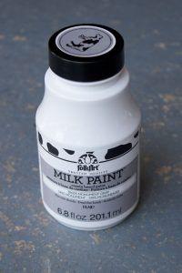 FolkArt Milk Paint in Monument Gray
