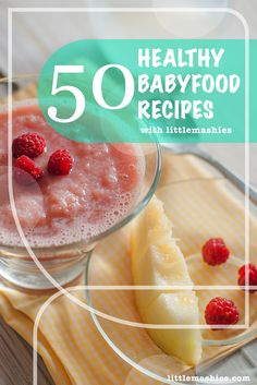 Little Mashies Melon & Raspberry Puree - 50 Healthy baby food pouch recipes littlemashies.com/free