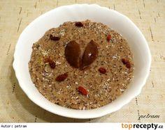 Amarantová kaše se semínky a oříšky Oatmeal, Pudding, Breakfast, Food, Meal, Eten, Puddings, Meals, Avocado Pudding