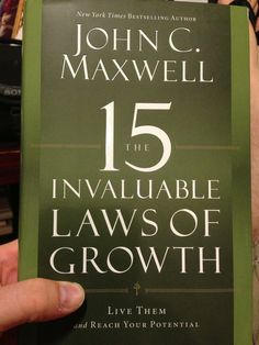 John Maxwell- I learned so much from this book! Learn to lead- we are all leaders! Great Books To Read, Got Books, Reading Lists, Book Lists, Message Bible, Entrepreneur Books, Life Changing Books, Personal Development Books, John Maxwell