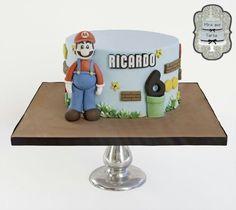 Mario bros cake by @miraquetarta