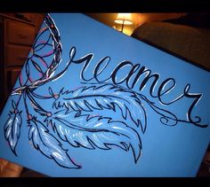 Dream catcher canvas painting