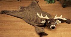 Plush Deer Rugs for baby boy room. I feel a if I'd want a bear rug and a deer/elk head on the wall :) Baby Room Themes, Baby Boy Rooms, Baby Boy Nurseries, Kids Rooms, Faux Animal Skin Rugs, Camo Nursery, Airplane Nursery, Baby Kids, Cute Babies