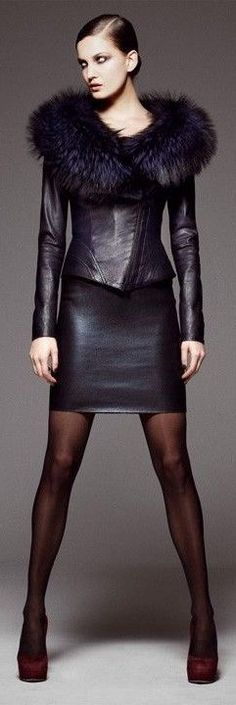 Leather..
