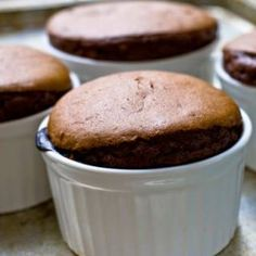Chocolate Almond Souffle...doing this for mom for thanksgiving