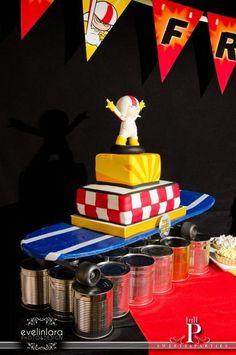 Photo 1 of 26: Dysney´s Kick Buttowski / Birthday Fran Buttowski - Medio doble de riesgo | Catch My Party