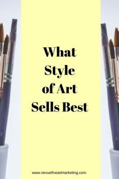 Do you find yourself good at all but a master at nothing? In this post, I will shed some light on a very popular topic that might help you decide what style of art sells best for you. artist via Sell My Art, Make Art, Selling Art Online, Online Art, Selling Paintings, Art Market, Art Techniques, Art Blog, Art For Sale