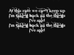 Underoath- Writing On The Walls (with lyrics)