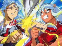 Ultra Ocio: anime / Titulo del Anime: InuYasha: El semidemonio más impetuoso junto a Aome y sus amigos enfrentándose al Demonio más poderoso de esa epoca.