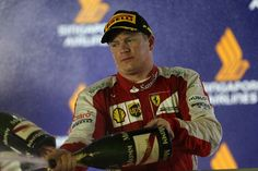 F1 Singapore Grand Prix: Arrivabene: Kimi is always complaining!