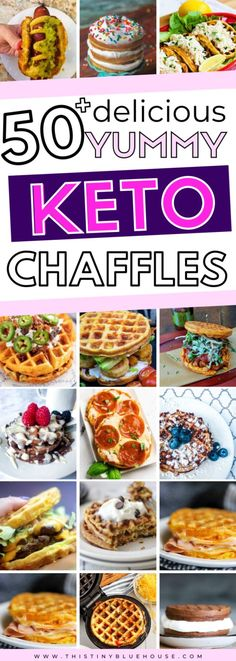 Enjoy one of these easy Keto Chaffle recipes any day of the week with absolutely zero guilt. These easy to make and super satisfying low carb chaffles are great for anyone living a Keto lifestyle. Pork Chop Recipes, Turkey Recipes, Sausage Recipes, Chicken Recipes, Bean Recipes, Soup Recipes, Casserole Recipes, Lasagna Recipes, Waffle Recipes