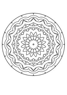 I love to color mandalas for relaxation and stress relief. And when you are done, they make beautiful wall decorations!
