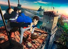 All new Lupin III TV series coming to Italy and Japan in Hold on to your hats folks, because this is BIG news! A new Lupin III TV series is on its way both Italy and Japan. The series features a. Most Beautiful Pictures, Cool Pictures, Lupin The Third, Anime Figures, New Series, Anime Shows, Studio Ghibli, Detective, Cannes