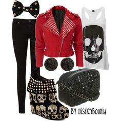 skulls - that jacket is SO cute!