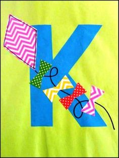 K for Kite (48 pieces)