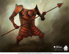 Alice - Red Knight by ~michaelkutsche on deviantART