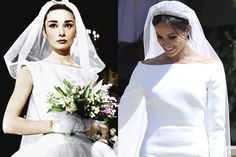 Meghan Markle Channeled Audrey Hepburn at the Royal Wedding and We Can't Look Away - HarpersBAZAAR.com