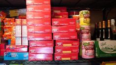 Awesome A Survivalist Basement Survival Storage Food - 1 of 2 For When SHTF