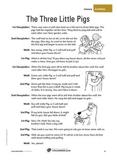 100 FREE Scripts Based on Children's Books, plays are a fun way to ...