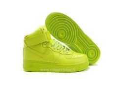 buy popular 43558 6abeb Nike Air Force 1 Mid 07 Volt Chaussure pour Femme Air Force Pas Cher Femme