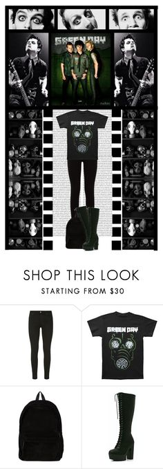 """""""GREEN DAY (band) CONTEST (read D)"""" by irresistible-livingdeadgirl ❤ liked on Polyvore featuring 7 For All Mankind, Ann Demeulemeester, CO, contest, emo, Punk, greenday, Dark, goth and bands"""