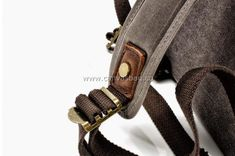 Leather Canvas Backpack (10) Canvas Backpack, Laptop Backpack, Travel Bags, Backpacks, Leather, Fashion, Travel Handbags, Moda, Fashion Styles