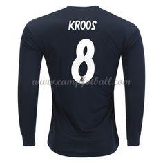 Real Madrid Fotballdrakter 2018-19 Toni Kroos 8 Bortedrakt Langermet Toni Kroos, Real Madrid, Sweatshirts, Trainers, Sweatshirt, Sweater, Hoodie, Hoodies, Sweaters