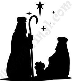 wise men silhouette clip art google search christmas printables rh pinterest com nativity scene clipart public domain nativity scene clipart black white