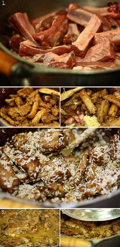 Como fazer arroz com costelinha de porco e bananas fritas – PapodeHomem