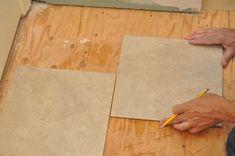 How to Tile a Bathroom, Shower Walls, Floor, Materials pics, Pro-Tips) Bathroom Plumbing, Bathroom Flooring, Basement Remodeling, Bathroom Renovations, Garage Gym Flooring, Concrete Board, Shower Remodel, Remodel Bathroom, Tile Installation