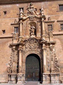 Alicante Orihuela - Puerta de la Universidad, Santo Domingo.