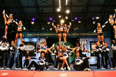 Next time you try to tell me cheerleading isn't a sport., look at this, try it..well see what you say after. <3