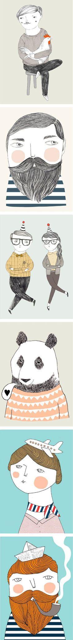 Illustrations by Verónica de Arriba