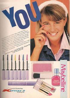 Kmart- Teen Magazine August 1987 Fashion Advertorial '80s Clothes & Makeup