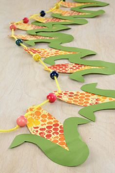 Check out Harvest Corn Garland crafting ideas at A. Autumn Crafts, Fall Crafts For Kids, Toddler Crafts, Holiday Crafts, Art For Kids, Thanksgiving Preschool, Fall Preschool, Preschool Crafts, Fall Art Projects